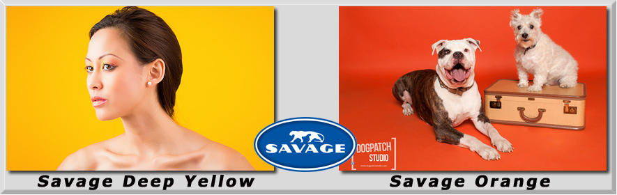 Banner Deep Yellow Orange